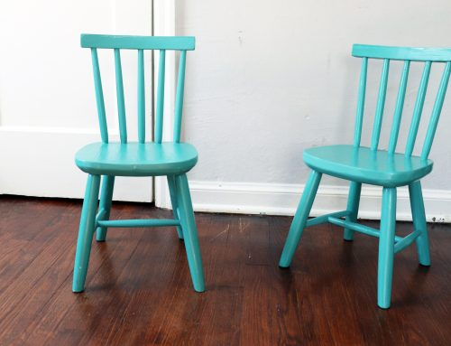 Vintage Chair Transformation ( with Good Bones Paint)