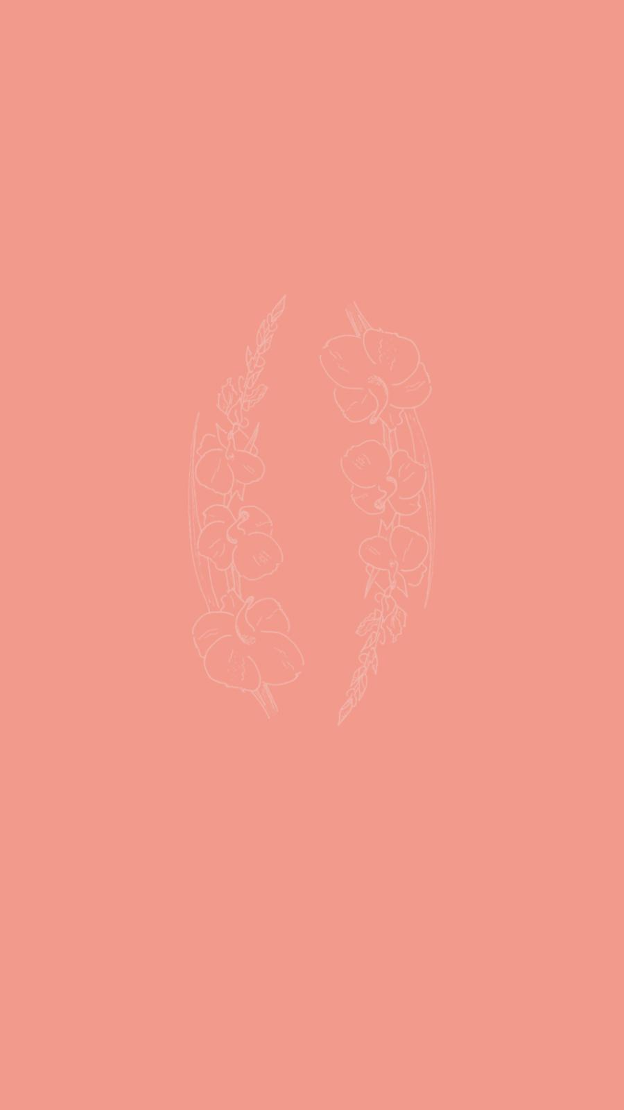 gladiolus flower sketch