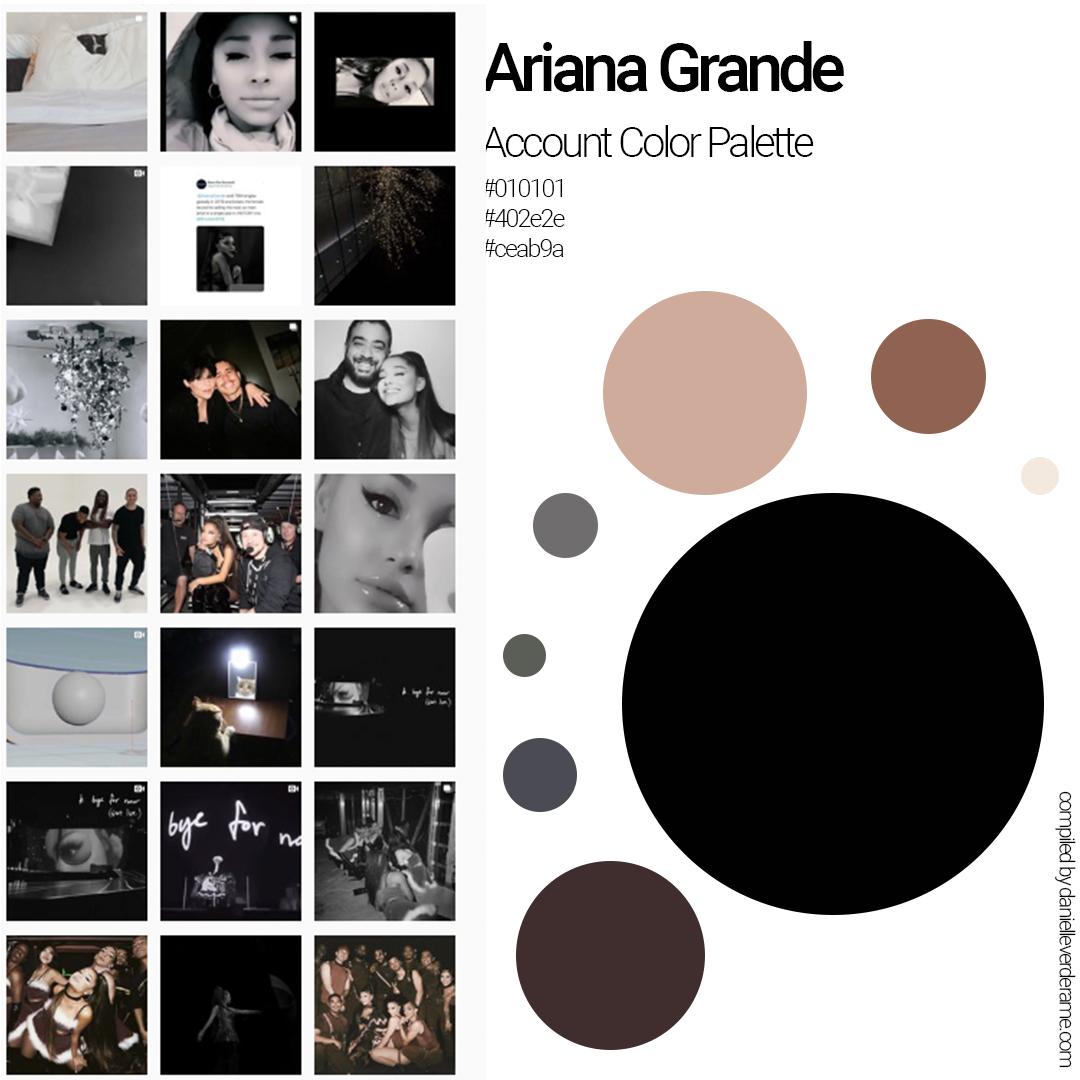 instagram colors graphic