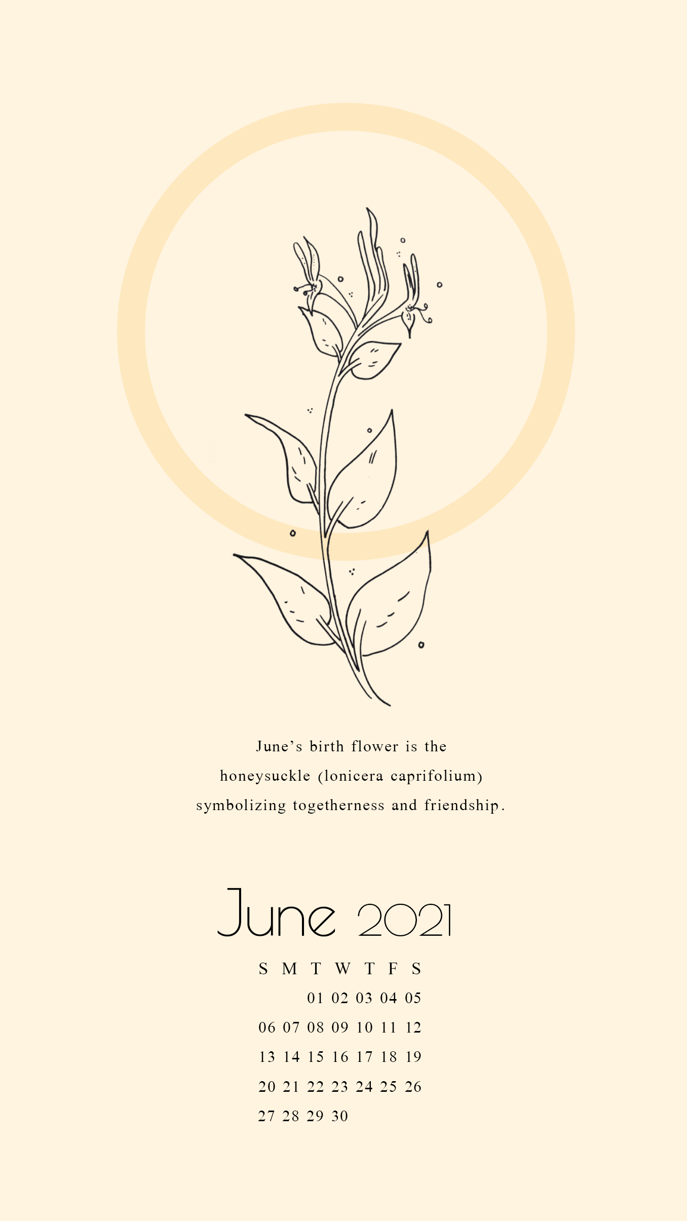 June 2021 walllpaper
