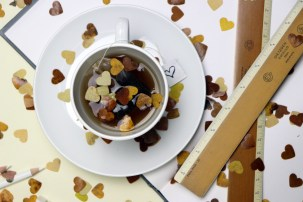 Leaf Confetti for Autumn Product Photography